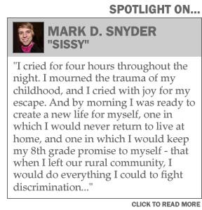 Spotlight on Mark Snyder